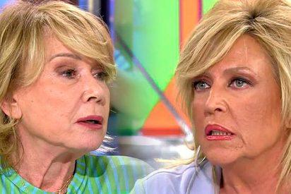 """Mila Ximénez 'vomita' a Lydia Lozano: """"Estoy hasta los coj***s, eres la metemierda oficial del programa"""""""