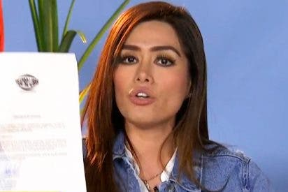Miriam Saavedra demandará a Hugo Castejón si no rectifica en tres días la información que ha difundido sobre ella