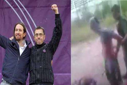 ¡A tubazos!: La tortura chavista que apoyan Iglesias, Monedero y compañía cuando defienden a Maduro