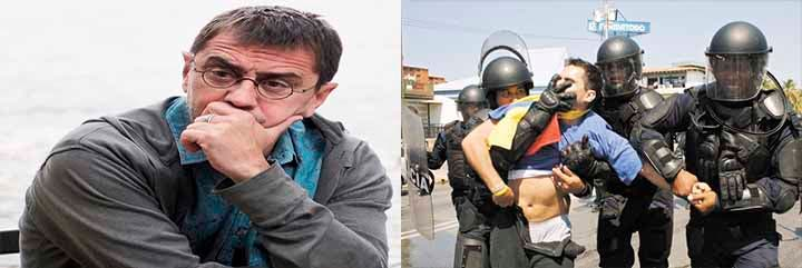 ¡Bestial!: El zasca a Monedero por defender 'indepes' y justificar la matanza de opositores en Venezuela