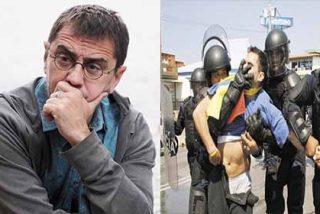 Monedero analiza América Latina en 4 bochornosos minutos: Dispara una ráfaga de mentiras, besa la bota militar del chavismo y defiende a corruptos socialistas