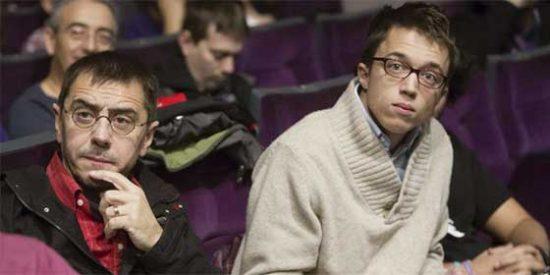 """Monedero airea su rabia contra Errejón en las redes sociales acusándole de haber roto Podemos: """"¿Te ha merecido la pena, Íñigo?"""""""
