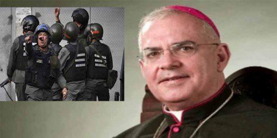 Venezuela: Los sicarios de la GNB del tirano Maduro atacan una iglesia en plena misa