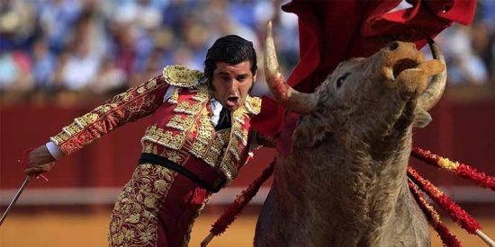 El inédito gesto de Morante antes de entrar a matar: seca las lágrimas del toro con un pañuelo