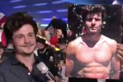 Eurovisión: Miki se hace un hueco en el festival ya, enseñando su torso
