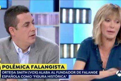 """Susanna Griso se pone de los nervios cuando oye a un tertuliano recordar las aberrantes compañías de Podemos: """"¡Eres un trilero!"""""""