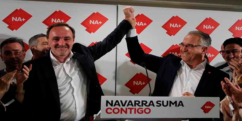 Navarra Suma consigue el parlamentario 20 y los proetarras de Bildu pierden uno y se quedan en 7 escaños