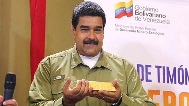 El dictador Maduro malgasta 14 toneladas de oro venezolano en las últimas dos semanas