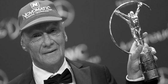Muere a los 70 años Niki Lauda, tres veces campeón de Fórmula 1