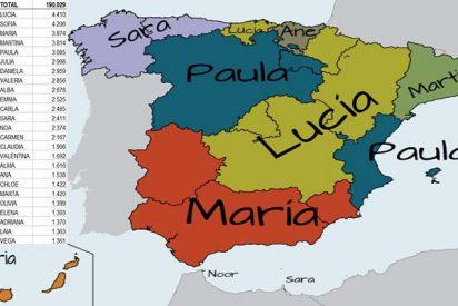 España sigue siendo un país de Antonios y María Carmenes, pero está de moda ponerle al niño Noa, Leo o Enzo