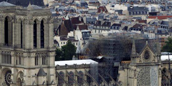 ¿Una piscina en el techo? El novedoso diseño para restaurar la catedral de Notre Dame