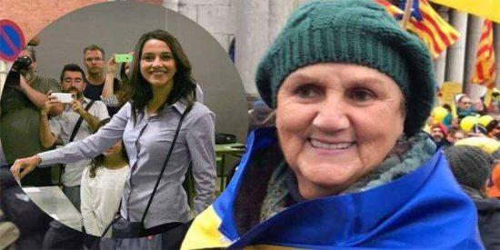 """Así es Núria de Gispert, la guarra 'indepe' que llama """"cerda"""" a Inés Arrimadas y recibe premios de Torra"""