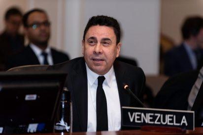 Acusado de fraude el embajador chavista Samuel Moncada ante la ONU