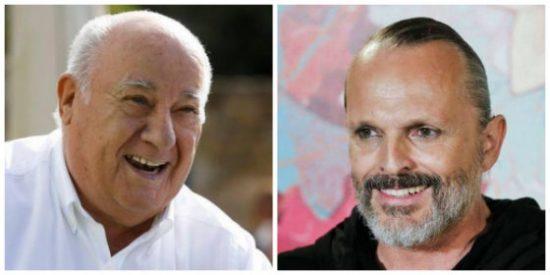 La turba podemita no perdona a Bosé su defensa de Amancio Ortega y le escupe sus deudas con el fisco