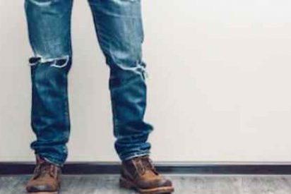 Pantalones vaqueros de hombre rotos o ripped jeans, (nuestra selección desde 13 €)