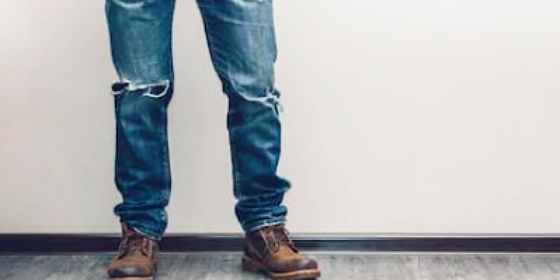 vaqueros rotos o 'ripped jeans