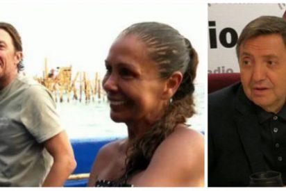 Losantos pone en un serio aprieto a Telecinco insinuando prácticas proxenetas en 'Supervivientes'
