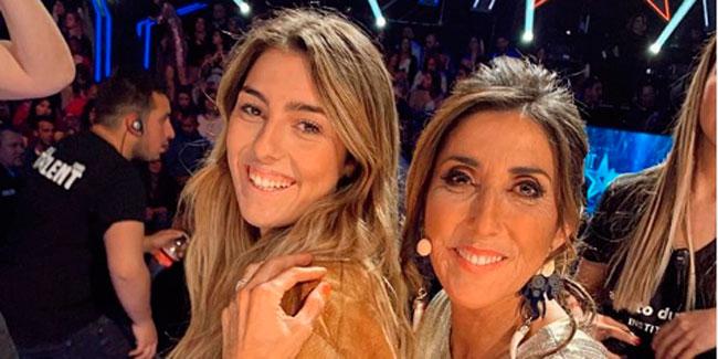 La hija de Paz Padilla felicita el 'Dia de la madre' con una foto de las dos desnudas