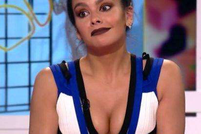 """El descuido de Pedroche con su mini vestido que sube los """"picos de audiencia"""""""