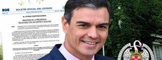 Pedro Sánchez, los discapacitados y el trabajo basura en la Presidencia del Gobierno