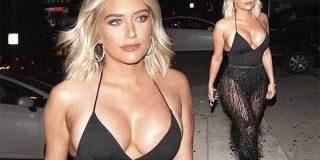 El nanobikini de Anastasia Karanikolaou, la amiga de Kylie Jenner, desata la locura en Instagram
