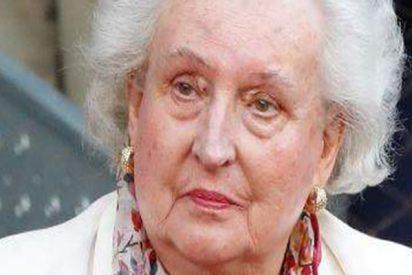 Confirman que la infanta doña Pilar de Borbón, hermana mayor de don Juan Carlos, padece cáncer