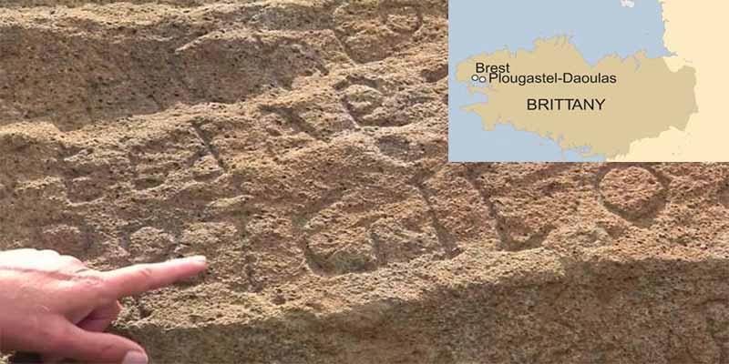 2.000 euros al listo que descifre esta misteriosa inscripción hecha hace 230 años