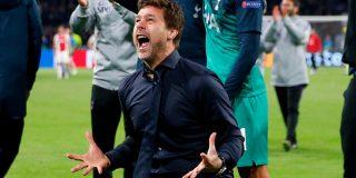"""Pochettino no logra contener las lágrimas tras la victoria de su equipo ante en Ajax: """"Son héroes"""""""