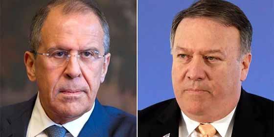 Mike Pompeo (EEUU) y Sergei Lavrov (Rusia) tratarán en Finlandia la crisis de Venezuela