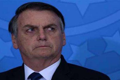 """Bolsonaroamenaza a un periodista: """"Qué ganas departirtela boca apuñetazos"""""""