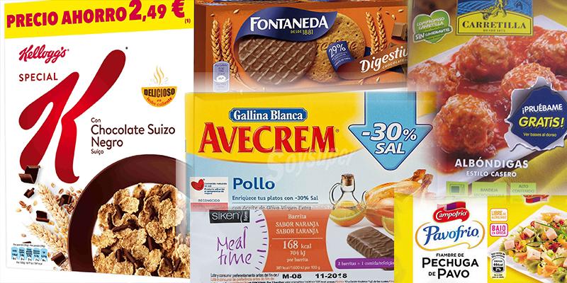 Los 6 alimentos que casi todos compramos en el 'súper' y que no son sanos