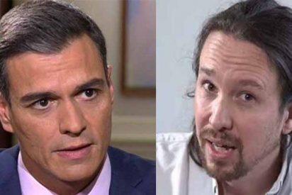 """Eduardo Inda: """"¿Nadie habla del bofetón que se ha llevado Pablo Iglesias?"""""""