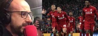 ¿Es usted anti-culé? Pues pinche y disfrute con la narración del cuarto gol del Liverpool al Barcelona en la independentista RAC-1