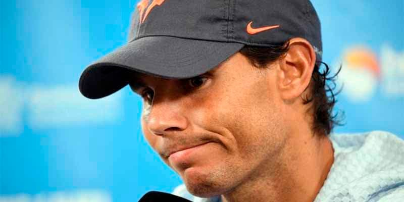 """Nadal a un periodista: """"Soy el número 2 del mundo y he ganado 18 Grand Slams"""""""