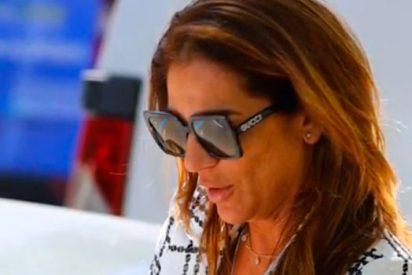 Raquel Bollo, pillada con uno de sus pezones 'a la fuga'