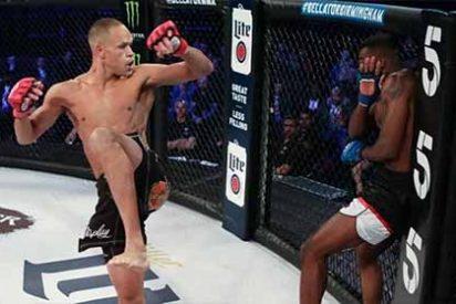 El fulminante golpe de la bestia del MMA: Dejó a su rival convulsionando