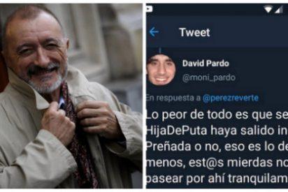 """Arturo Pérez-Reverte acojona a un tuitero rescatando sus 'perlas' contra Villacís: """"Lo peor es que esta hija puta saliera indemne"""""""
