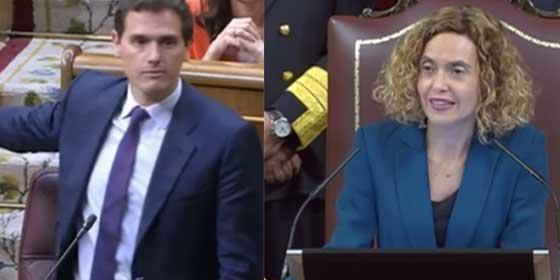 Episodios nacionales: el 'circo' indepe ya está en el Congreso y Batet corta a Rivera por protestar por el juramento no valido de los golpistas