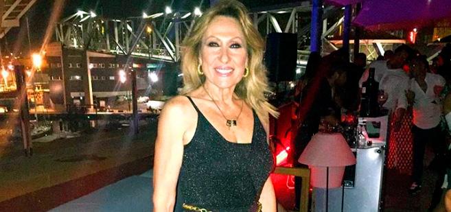 Rosa Benito remata el malicioso comentario de Carlos Lozano a Isabel Pantoja con una foto de Rocío Jurado