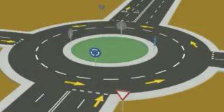 Así es el nuevo vídeo de la Guardia Civil para aclarar el uso de las rotondas