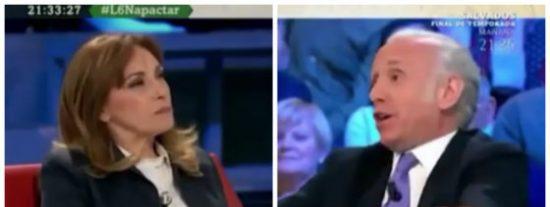 Angelica Rubio, la exjefa de prensa de ZP, insinúa que Inda se 'chuta' y el periodista estalla como nunca