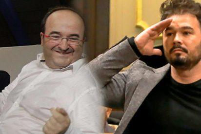 Los independentistas catalanes vetan el plan de Sánchez para que Iceta presida el Senado