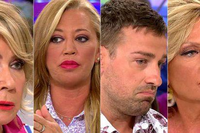 Los colaboradores de 'Sálvame' responden a los brutales ataques de Carmen Borrego