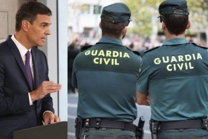 La Guardia Civil estalla: retrata a Zapatero y fulmina en un tuit a Pedro Sánchez y PSOE