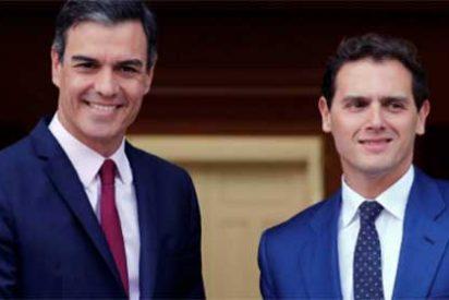 """Las redes sociales sacan punta a la brevedad de la reunión de Sánchez con Rivera: """"La media de las citas de Tinder es más elevada"""""""