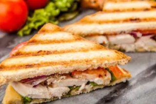 Sándwich de pollo, receta fácil