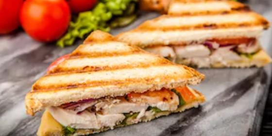 Sándwich de pollo, receta fácil 🥪