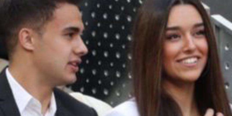 Así es la bella novia del joven jugador del Real Madrid, Sergio Reguilón