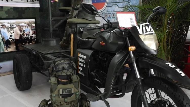 El nuevo juguete de Nicolás Maduro para matar opositores: un 'triciclo' con ametralladora