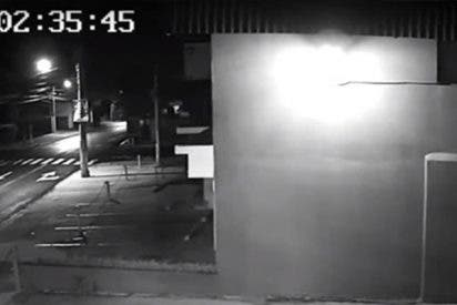 Así son las primeras imágenes del fuerte sismo que hizo temblar El Salvador